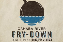 Cahaba Fry-Down Poster Design and Logo Design