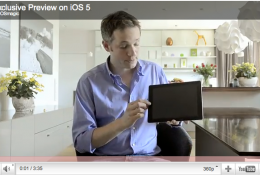 "Simon Pierro demonstrates the ""magic"" of the iPad"